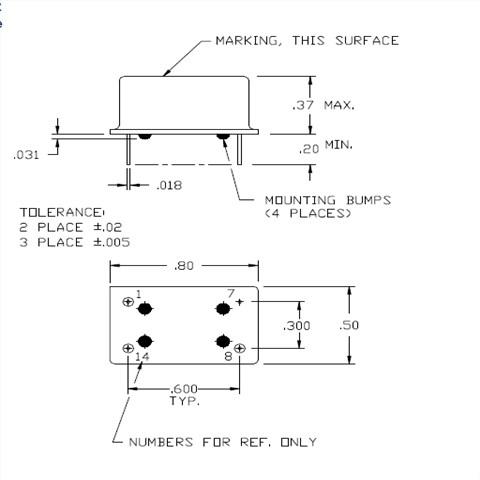 (f≤52mhz)(削峰正弦波/dc-coupled) 输出负载 10kΩ//10pf 频率稳定