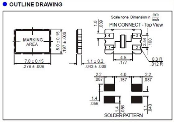 (1) 理想情况下,机械蜂鸣器应安装在一个独立于晶体器件的pcb板上.