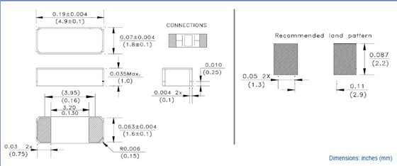 abracon晶振,无源贴片晶振,abs10晶振